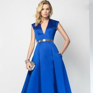 d771977c88e93 La Femme Dresses | Style 24266 Navy Blue Mermaid Gown | Poshmark